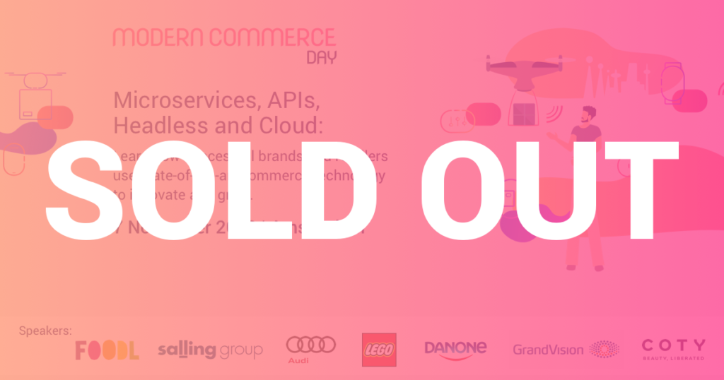 Modern Commerce Day - Sold out!
